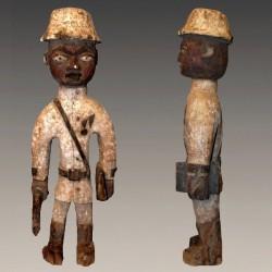 Statuette Colon Yoruba très ancienne