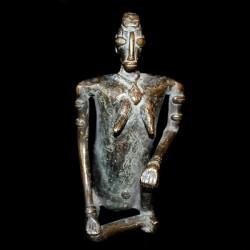 Beau bronze Dogon de fécondité