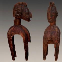 Cimier heaume Baga masque Demba
