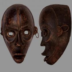 Masque Ibibio porté