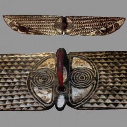 Beau masque papillon Bwaba