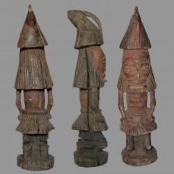 Statuette masque Tchokwe