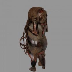 Statuette Bulu mi humaine mi simiesque