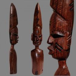 Statuette buste africain Yoruba