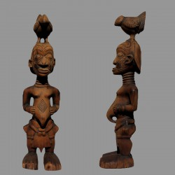 Statuette très ancienne de charme Mbulenga Luluwa