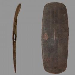Bouclier Ngbaka très ancien