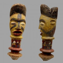 Petite et ancienne Kyebe Kyebe poupée Kuyu
