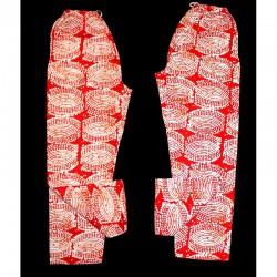 Pantalon africain coton imprimé