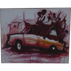 Peinture 1 sur toile du Zimbabwe d'ITAI