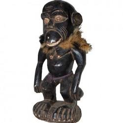 Statue singe fétiche Bulu