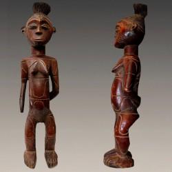 Statuette féminine Mangbetu