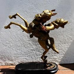 Cavalier Tikar Bronze ancien