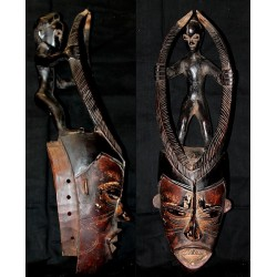 Masque initiatique Ibo Mmwo