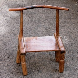 Chaise traditionnelle Baoulé