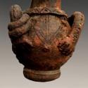 Cruche cultuelle Tikar en terre cuite