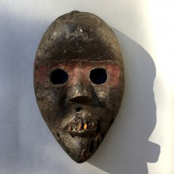 Très ancien masque d'initié Dan