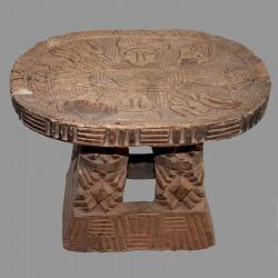 Ancien tabouret Tikar du Cameroun