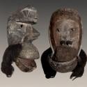 Ancien masque Kran articulé