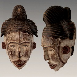 Beau masque Agbogho Mmwo
