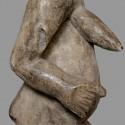 Statuette protectrice en figure de reine Punu