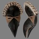 Masque Dan Mahou avec cauries