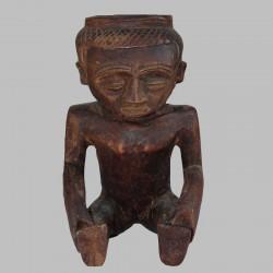 Coupe de divination Tchokwé Lwena