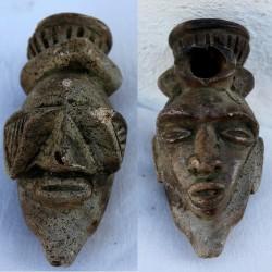 Pipe de divination Bakongo NTadi