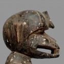 Statuette simiesque G'Bekré Baoulé