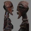 Petite rare et ancienne statuette Songyé