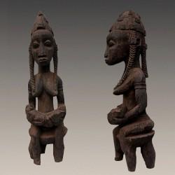 Statuette maternité Bambara