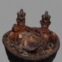 Ancien reliquaire divinatoire Yaka