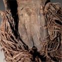 Ancienne masquette Kifwébé de famille