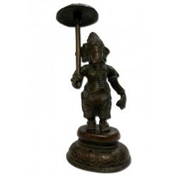 Ganesh statuette bronze ancien