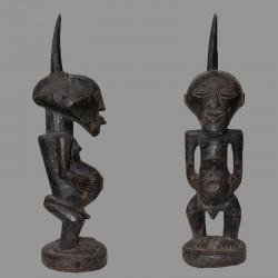 Ancienne petite statuette Songyé de prestige