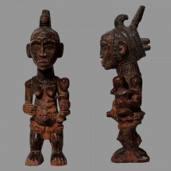Statuette Chibola Luluwa protection des maternités