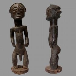 Statuette masculine figure d'Ancêtre Luba