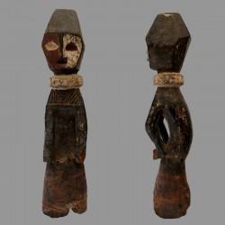 Ancienne statuette Ofika poteau MBole