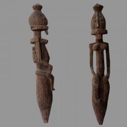 Statuette poteau Dogon ancien