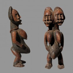 Statuette féminité Mbulenga Luluwa
