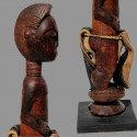 Ancienne statuette protectrice Baoule
