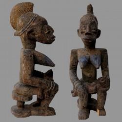 Statuette Afo Okeshi ancienne