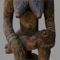 Statuette Afo Okeshi ancienne detail 1