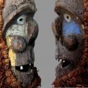 Masque Bulu du Cameroun Janus