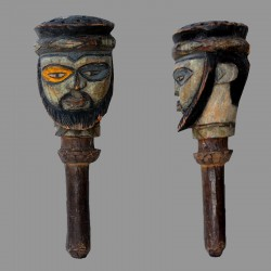 Poupee Kuyu polychrome ancienne
