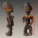 Statuette africaine ancienne Yombe mesures