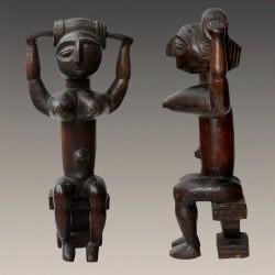 Statuette africaine Reine Attie