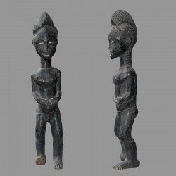 Statuette africaine ancienne Ancetre Baoule