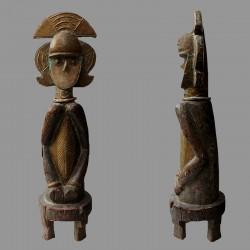 Statuette africaine gardien des reliquaires Kota