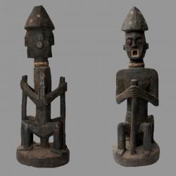 Statuette africaine Pende en Janus