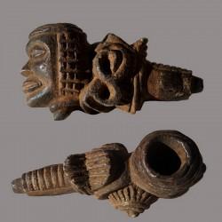 Ancienne pipe Ntadi Bakongo Mboma